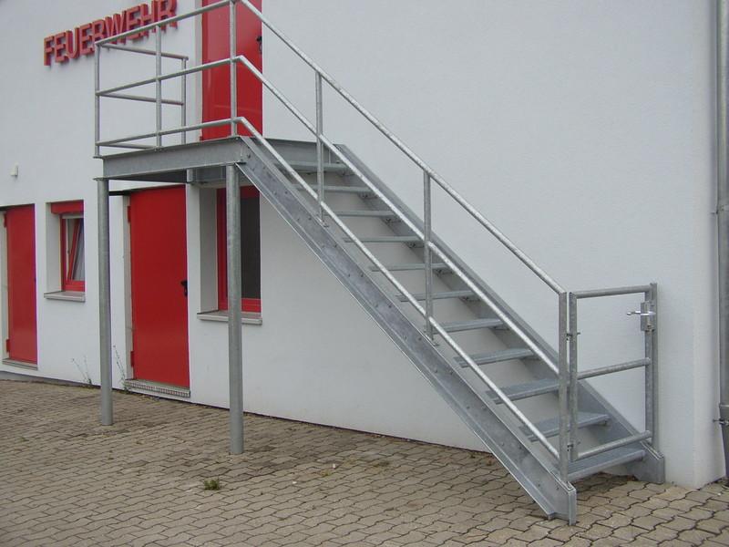 Außentreppe Stahl niro stahl außentreppen